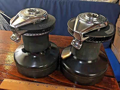 Lightly Used Barient 19 St Self Tailing Two Speed Winch (Comp To Lewmar 40)