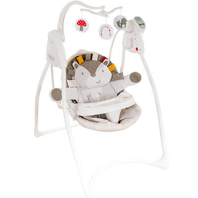 Graco Loving Hug Baby Swing, Musical Infant Rocker Chair with Soft Toy Mobile