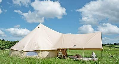 Medium Awning ONLY for 3m, 4m, 5m Bell Tent. 360 x 240cm. Shelter. Canopy.