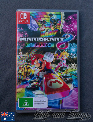Mario Kart 8 Deluxe - Nintendo Switch Game - Brand New, Genuine