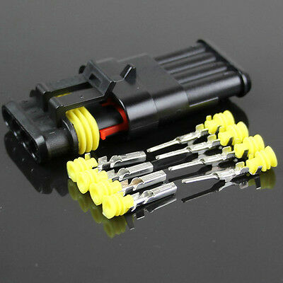4-Pins-wire-connector-sealed-Waterproof-hid-Connector-model-Modified-Car