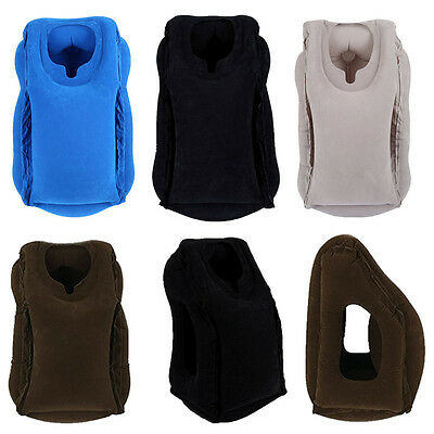 2017 Inflatable Air Cushion Neck Comfortable Support Pillow Travel Nap Pillow