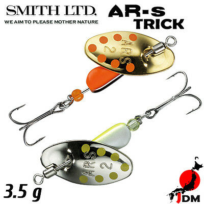 Assorted Colors SMITH AR-S TRICK 3.5 g Trout Spinner
