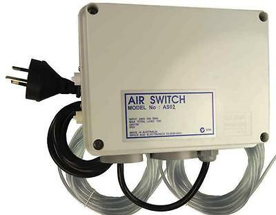 Air Switch Dual for Spas and Pools Programmable no Timer 10amp