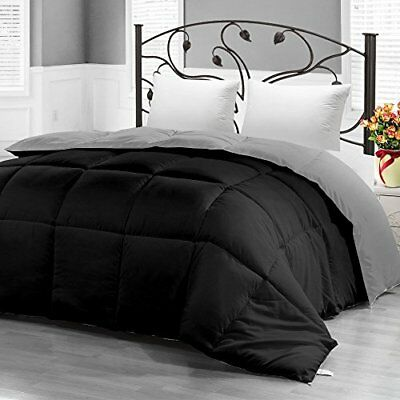 Down Alternative Reversible Comforter for All Season Duvet Insert by Utopia