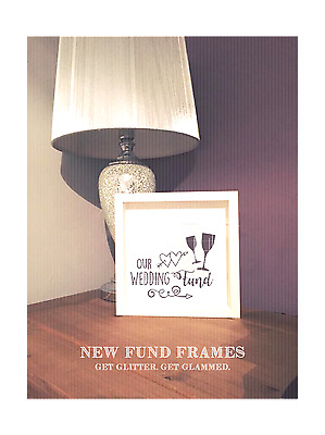 wedding fund #6 sticker vinyl transfers suitable for 23x23cm, Any colour x1