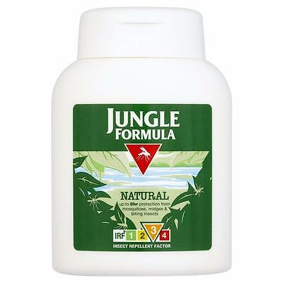 ** JUNGLE FORMULA INSECT REPELLENT LOTION NATURAL  NEW ** 125ml  MOSQUITOS BITES