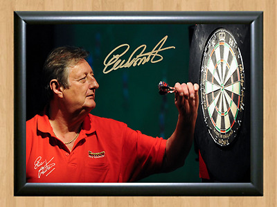 Eric Bristow Signed Autographed A4 Poster Photo Print Darts Sports Memorabilia 1