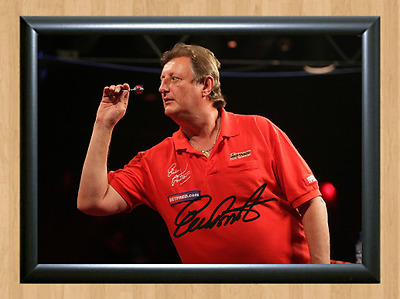 Eric Bristow Signed Autographed A4 Poster Photo Print Darts Sports Memorabilia 2