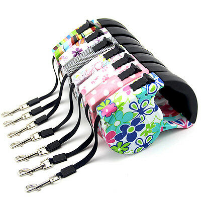 16ft/5M Automatic Retractable Pet Dog/Cat Puppy Traction Rope Walking Lead Leash