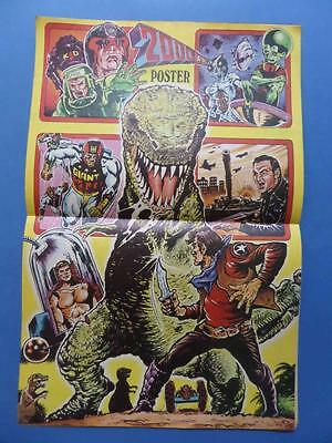 2000Ad Summer Special 1977 Supercomic With Poster! Star Wars Feature!