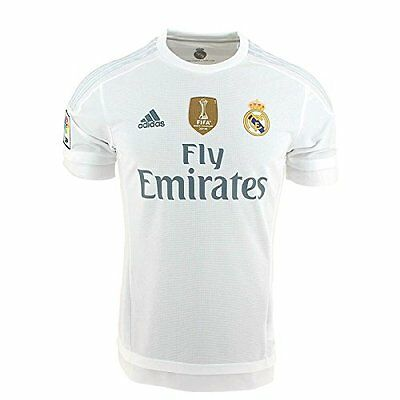 Adidas maillot football Real Madrid exterieur neuf 2015/2016 patchs WC