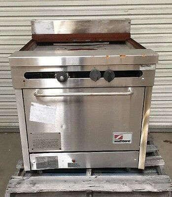 Southbend Commercial Heavy Duty Griddle Top Gas Fired Range W/ Oven
