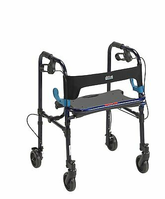 Drive Medical 10230 Clever Lite Rollator Walker With 5 Casters NEW