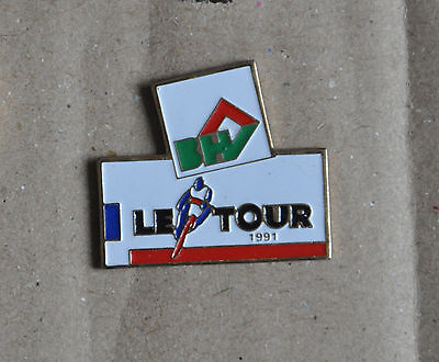 Pin's - Le Tour de France 1991 - BHV - cyclisme