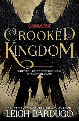 Crooked Kingdom: Book 2 (Six of Crows) by Leigh Bardugo New Paperback Book