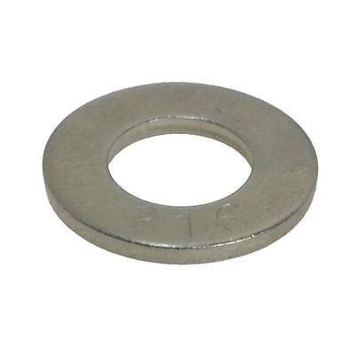 Flat DIN125 Washer M20 (20mm) x 37mm x 3mm Metric Marine Stainless G316