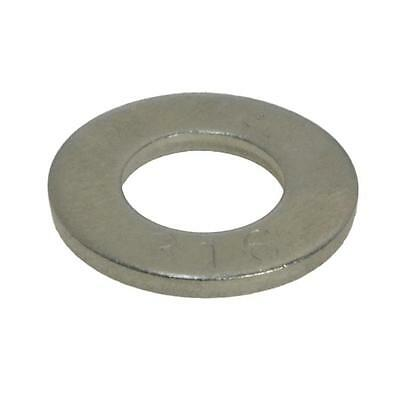 Flat Standard Washer M10 (10mm) x 21mm x 1.2mm Metric Marine Stainless G316