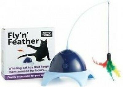 Ruff 'n' Tumble - Fly 'n' Feather Battery Feather Toy for Cat Kitten