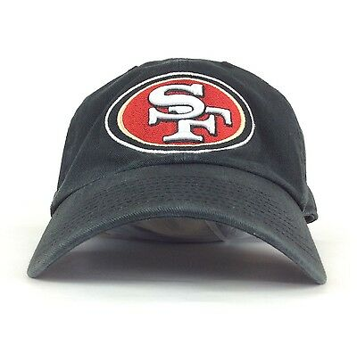 4e441d9ef NFL San Francisco 49ers 47 Brand Black Baseball Cap Hat Adj Adult Size  Cotton