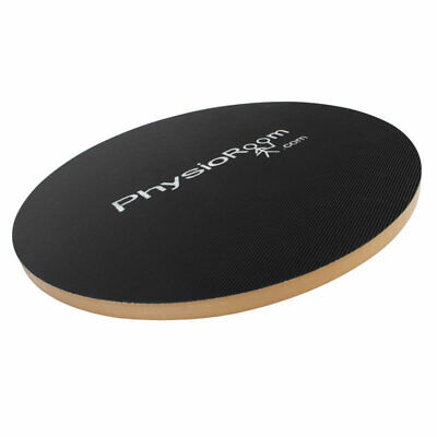 PhysioRoom Therapiekreisel Wackelbrett 40 cm Balance Board aus Holz - Sport