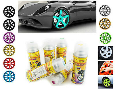 VERNICE REMOVIBILE 400ml BOMBOLETTA SPRAY  PELLICOLA WRAPPING CERCHI AUTO MOTO