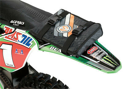 Moose Racing Fender Mount Tool Pack Enduro Off Road Motorcycle Bag - Black