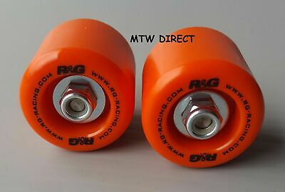 R&G PAIR ORANGE FORK PROTECTORS KTM 390 Duke (2017)