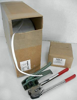 "STRAPPING KIT: 1/2"" Polypropylene Strap, Metal Seals, Tensioning Tool & Crimper"