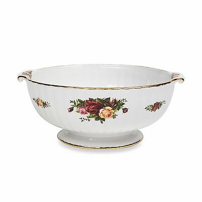 Royal Albert OLD COUNTRY ROSES  Fluted Serving Bowl NEW IN THE BOX