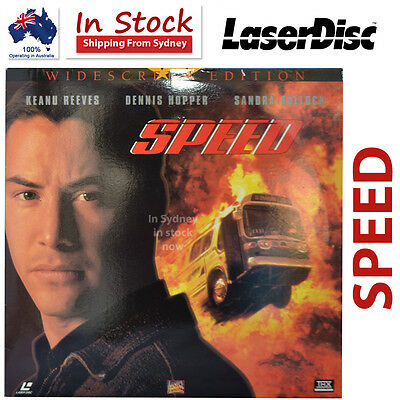 Speed Laser Disc Movie Widescreen Edition