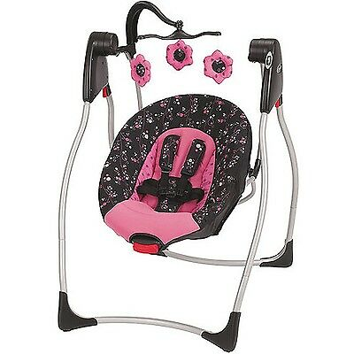 Comfy Cove Baby Swing Priscilla Graco Mobile Harness Multiple Speeds