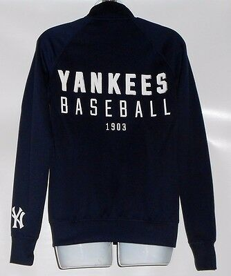 35250d67 Victoria's Secret Pink Limited Edition MLB New York Yankees Full Zip Jacket  XS