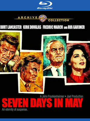 Seven Days in May (1964) [New Blu-ray] Manufactured On Demand, Amaray Case