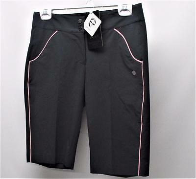 New Ladies Size 2 EP Pro Impressions Polyester Spandex Granite golf shorts