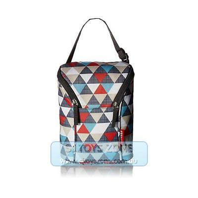 Skip Hop Grab and Go Double Insulated Warmer or Chiller Bottle Bag - Triangles