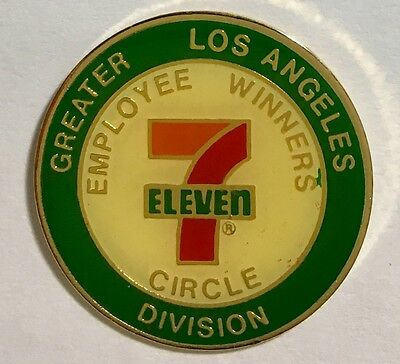 7-11 Employee Winners Circle -Greater Los Angeles Division logo pin