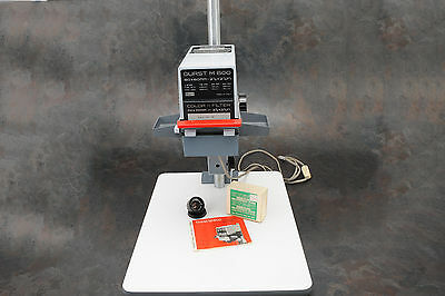 - Durst M600 Enlarger Outfit, Isco Lens, Variable Contrast Filters
