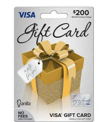 200 Dollar Gift Card (activated, Fast Shipping, Ready To Use!)