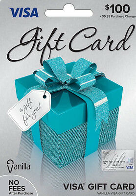 100 Dollar Gift Card (activated, Fast Shipping, Ready To Use!)