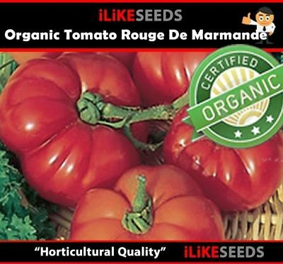 "ORGANIC Tomato ""Rouge De Marmande"" HEIRLOOM. 20 Seeds Minimum. Vegetable Plants."