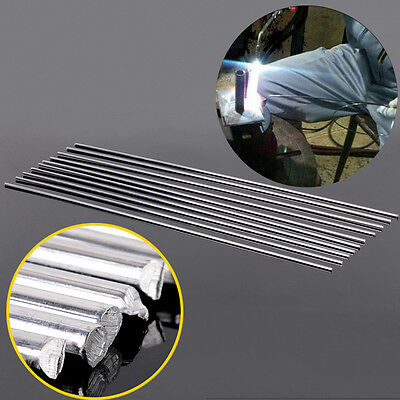10pcs 3.2mmX450mm Aluminium Low Temperature Tig Welding Soldering Brazing Rods