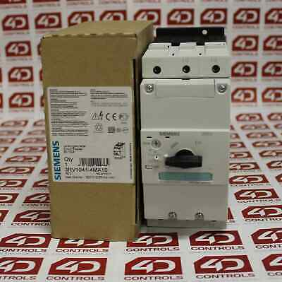 Siemens 3RV1041-4MA10 Circuit-Breaker Size S3 - New Surplus Open