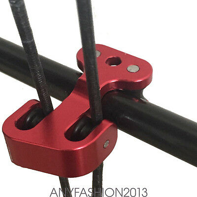 Pulley Bow string Separator Protect for Compound Bow Hunting Archery Easytake