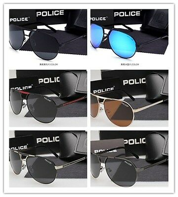 2017 New men's polarized sunglasses Driving glasses 6 colors P8480+Box