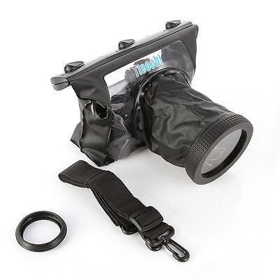 20M Underwater Waterproof Camera Case for Canon 750D 70D 5D II 760D 7D D90 D7200