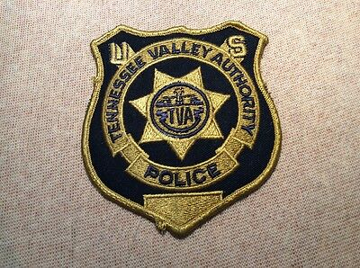 TN Tennessee Valley Authority Police Patch