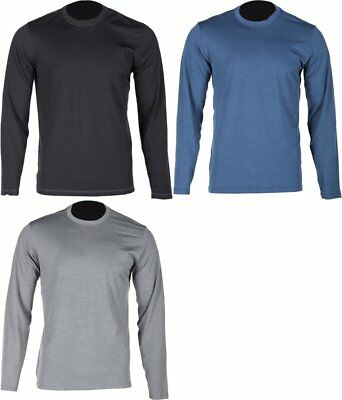 Klim Mens Teton Merino Wool Long Sleeve Base Layer Shirt