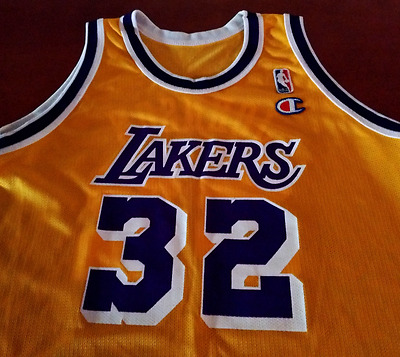 NBA Magic Earvin Johnson Los Angeles Lakers Jersey - Size L Youth - Champion