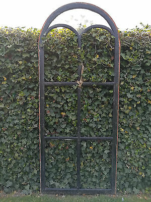 Cast Iron Window H=219Cm The Year 1870 Cast In Eu Or Uk Limited Number Available